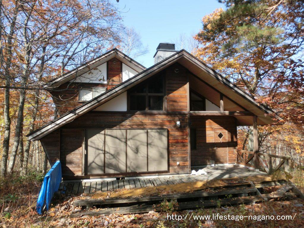 飯綱町 サニーハイランド内の別荘!暖炉とサウナがついてます ...